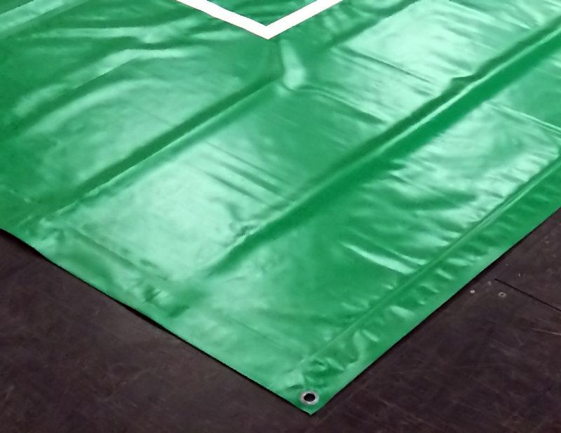 PVC auduma tents 1,7m x 2m