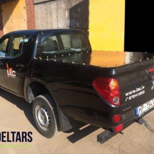 Mitsubishi L200 kravas kastes pārsegs melns