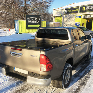 Toyota Hilux 2016 kravas kastes pārsegs