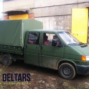 Armijas krāsas kravas kastes pvc pārsegs