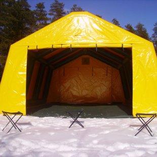 Piepūšamā karkasa telts