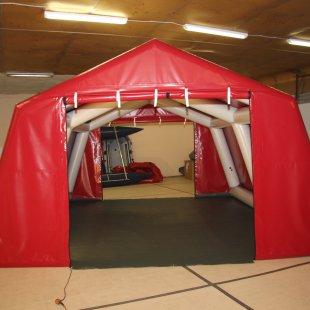 Pirpūšamā karkasa telts