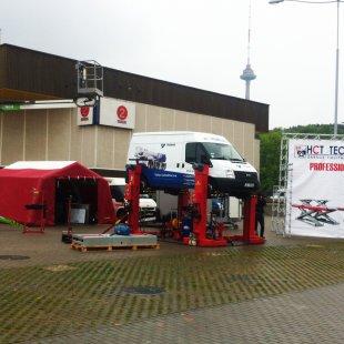 HCT Automative izstādē DELTARS telts