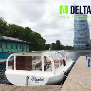 Elizabete - tūrisma kuģa tents