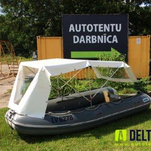 laivas lietus nojume makšķerēšanai